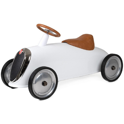 Baghera Ride-On Rider Elegant   - WHITE