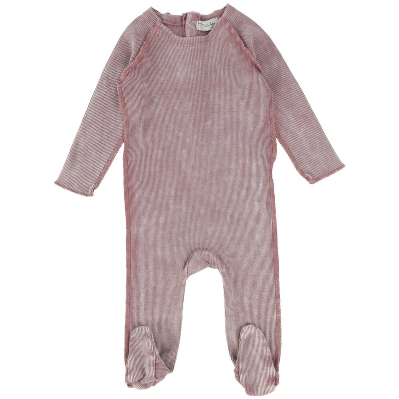 Lil Leggs Denim Take Me Home Set - PINK WASH