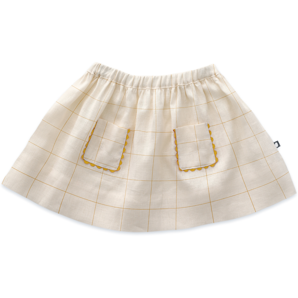 Oeuf  SKIRT  - Off-White