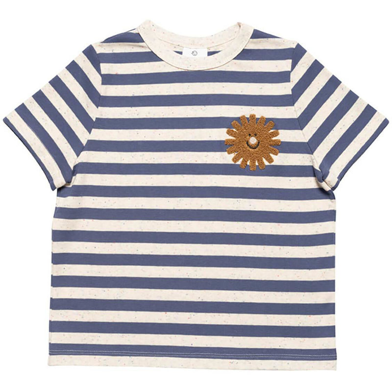 Wynken Sunshine Stripe Tee - BLUE