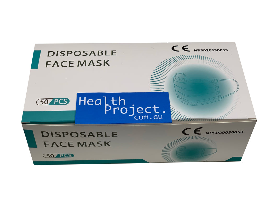 Medical Mask (3 Ply) Box of 50