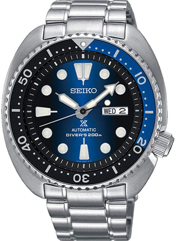 "SEIKO PROSPEX ""Turtle"" Diver's 200M  (Special made in Japan version)Automatic Watch Blue Sunburst Dial SRPC25J1"