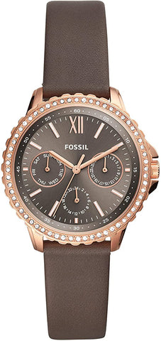 FOSSIL  Izzy Multifunction Gray Leather - ES4889