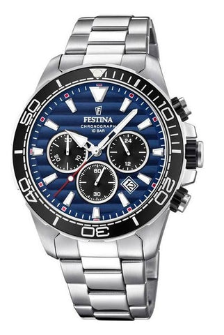 Festina Analog Blue Dial  Watch-F20361/3