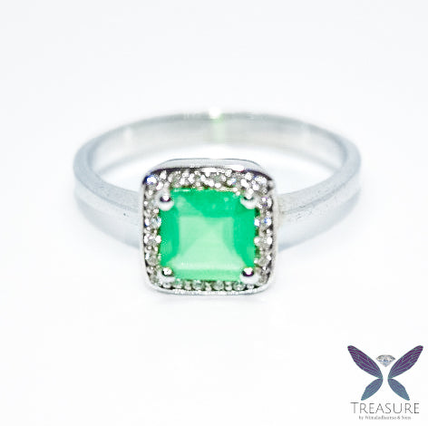 Green Agate ring SAGTR01