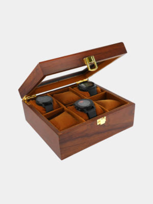 6PCS LUXURY WOODEN WATCH COLLECTOR BOX