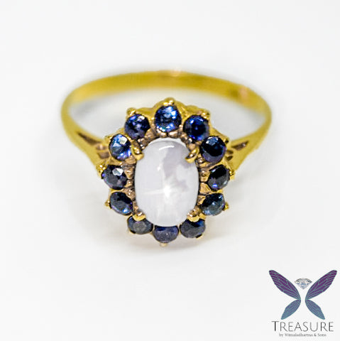 Star sapphire ring YSSCR01