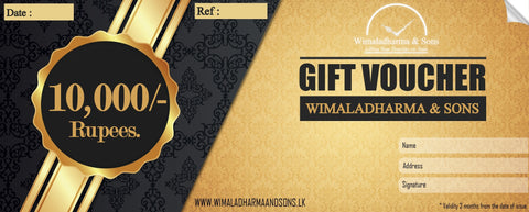 Gift voucher  Rs.10,000/-