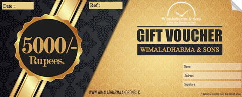 Gift voucher  Rs.5000/-
