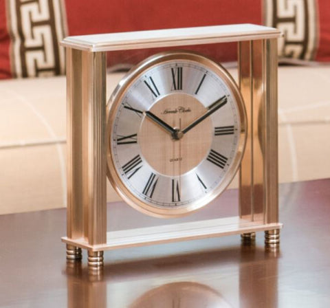 Hermle German living room decoration silent bedroom table clock QT206-210001