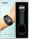 STRAND DENMARK SMART WATCH - BLACK CASE WITH BLACK MESH