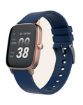 STRAND DENMARK SMART WATCH - ROSE GOLD CASE BLUE SPORTS STRAP
