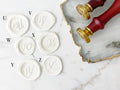 Sealing Wax Stamp with Letters