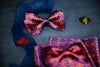 Minos Jumbo Butterfly Bow Tie & Pocket Square Set