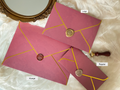 Gold Foil Envelope