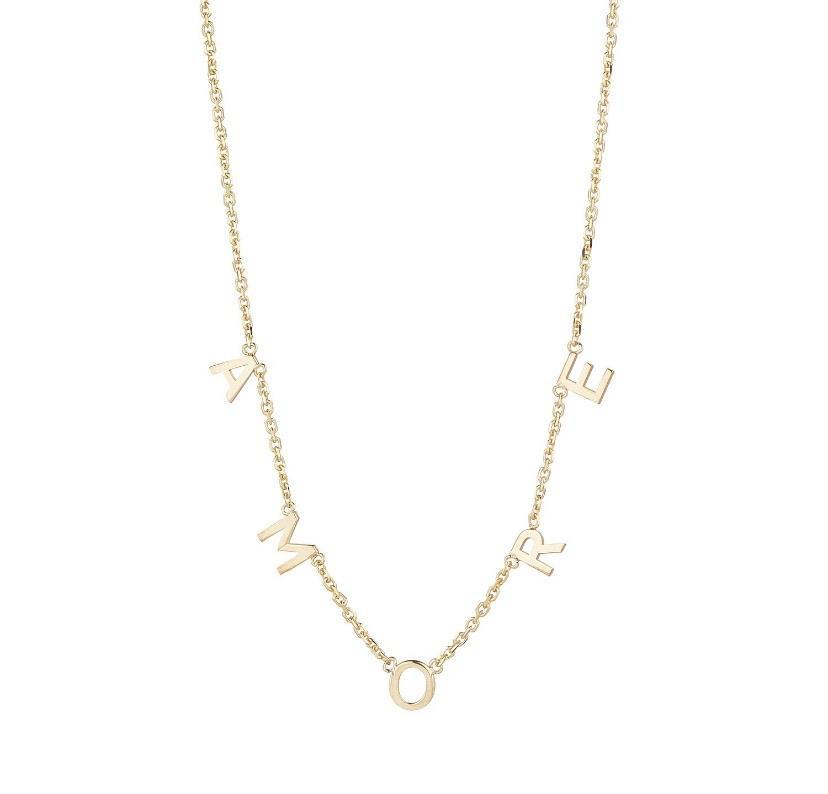 9ct Yellow Gold AMORE Necklace