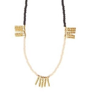 Five Bar Single Strand Kisongo Necklace