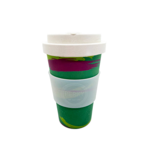 Bamboo Travel Cup Green