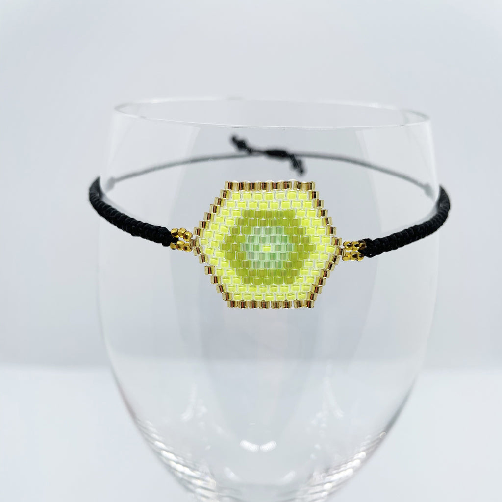 Concentric Sun Beaded Bracelet