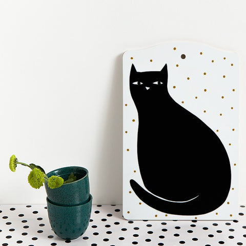 Cat Cutting Board