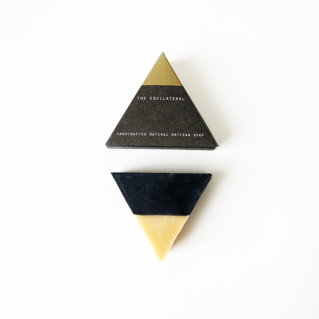 Equilateral Soap Black and Gold