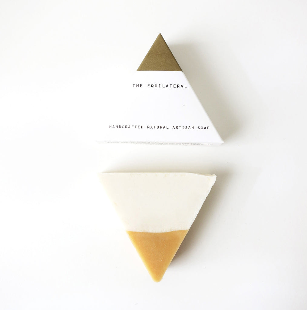 Equilateral Soap White and Gold