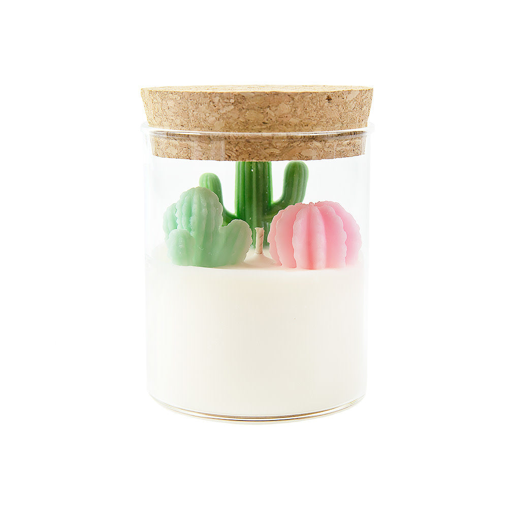 Succulent and Cactus Garden Soy Candle