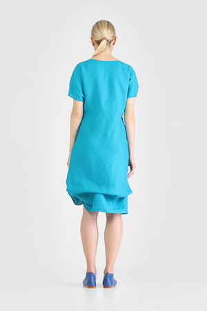 Hagne - Knotted t-shirt dress
