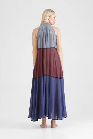 Ichene - Panel maxi dress