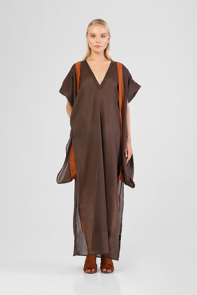 Inka - Classic kaftan with transformable sleeves