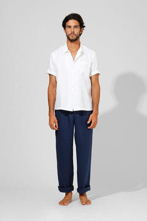 Camp - Classic Short Sleeve Linen Shirt