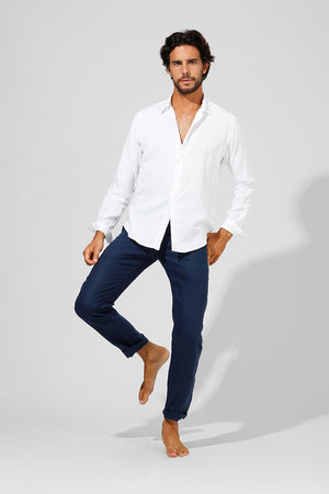 Lamar - Double Layered Classic Dress Shirt