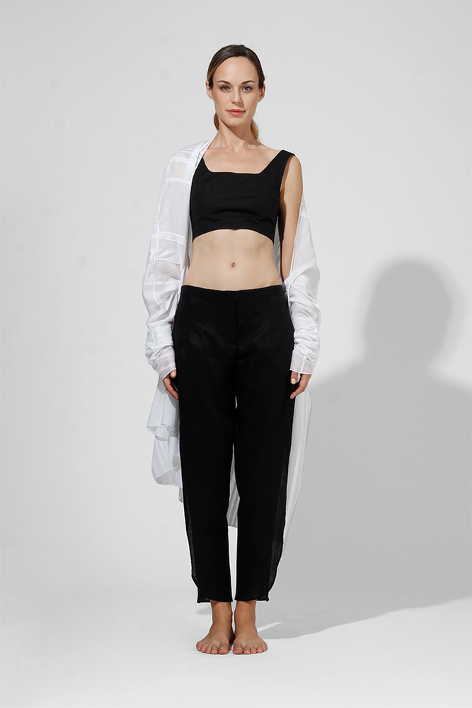Load image into Gallery viewer, Laly - Poplin Crop Top