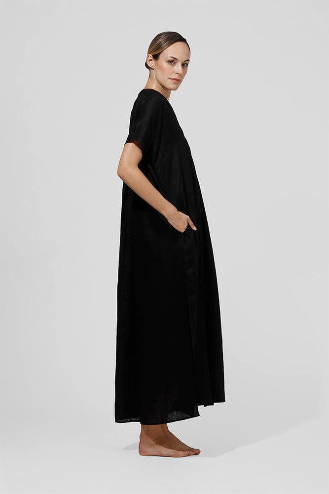 Maejo - Long kaftan with v-neck