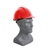 Casco de seguridad con suspensión matraca - Rojo- INFRA- Bryan Safety Mexico