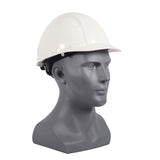 Casco de seguridad con suspensión matraca - Blanco- INFRA- Bryan Safety Mexico