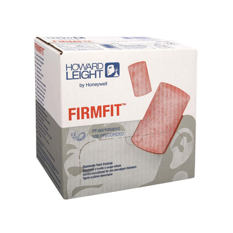 Tapon auditivo desechables Firm Fit Con cordon - - Howard Leight- Bryan Safety Mexico