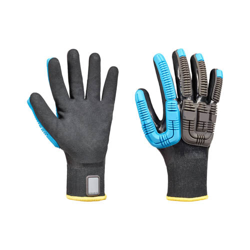 Guantes de impacto Rig Dog Knit Water Resist - Grande / 9- Honeywell- Bryan Safety Mexico
