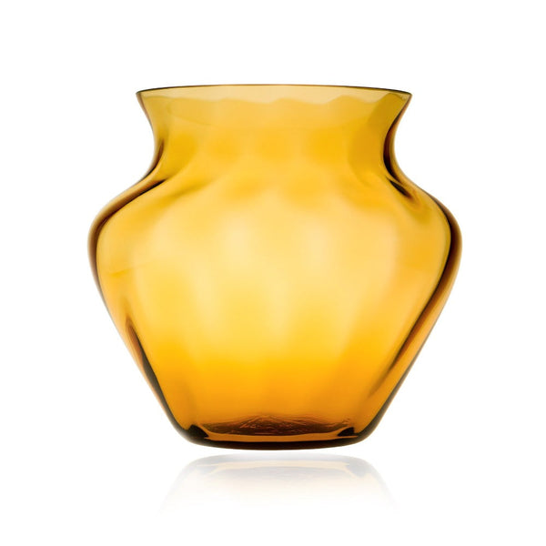 Amber Marika Large Glass Vase