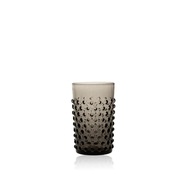 Black Smoke Tumbler from Hobnail collection by KLIMCHI