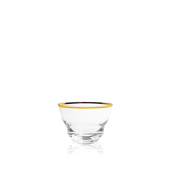 Small Bowl in Golden Lux from Shadows collection by KLIMCHI