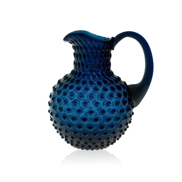 Royal Blue Jug from Hobnail collection by KLIMCHI