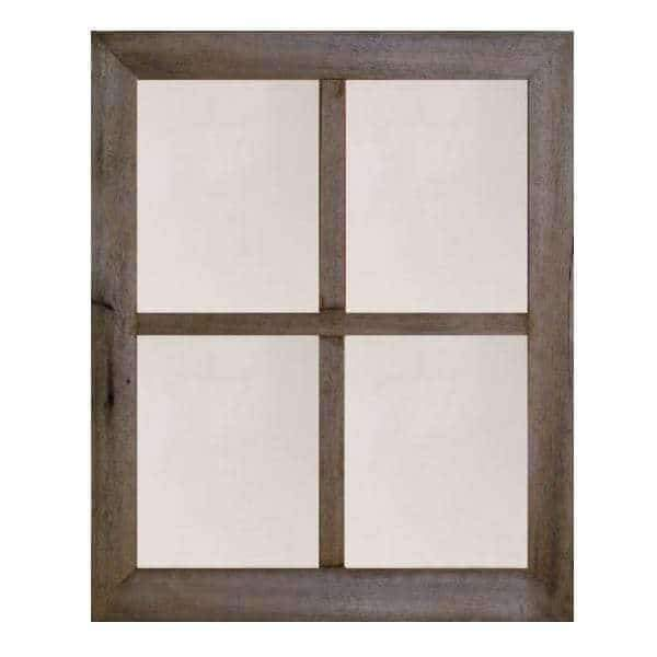 2″ Medium 4-Pane Barn Window Mirror - Picture Frame - Shop - Rustic Wooden