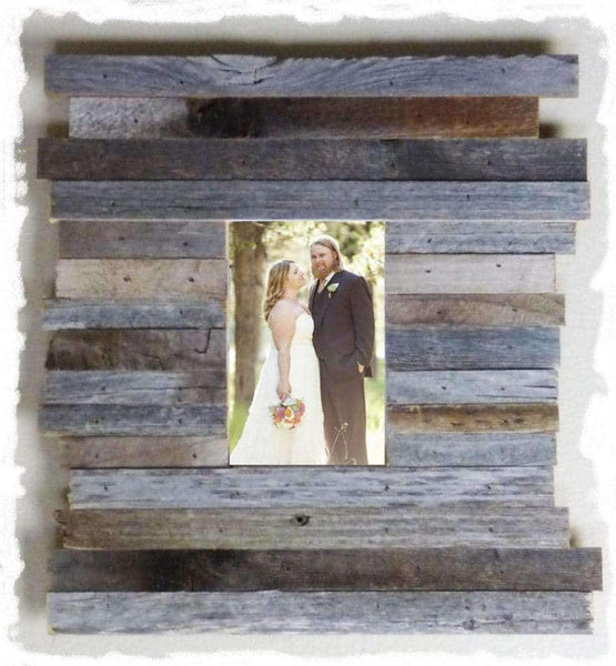 All Sizes Beachcomber Barn Wood Frames - Picture Frame - Shop - Rustic Wooden
