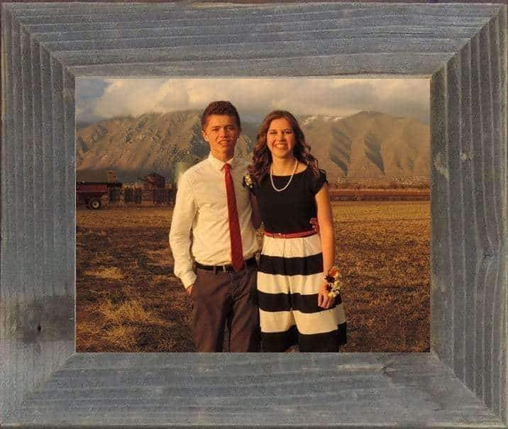 All Sizes 2 Wide Narrow Barnwood Frame - Picture - Shop - Rustic Wooden