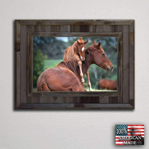 Cheyenne 20x24 Frame - Picture - Shop - Rustic Wooden