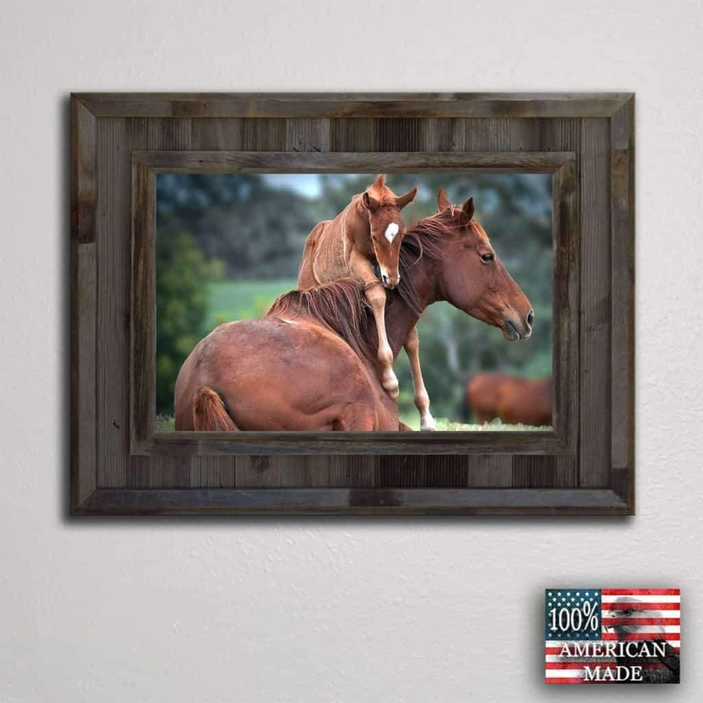 Cheyenne 24x30 Frame - Picture - Shop - Rustic Wooden