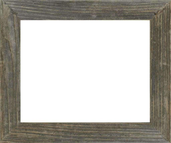 1.5 Wide Narrow Barnwood Frame 8.5 x 11 Document Size - Picture - Shop - Rustic Wooden