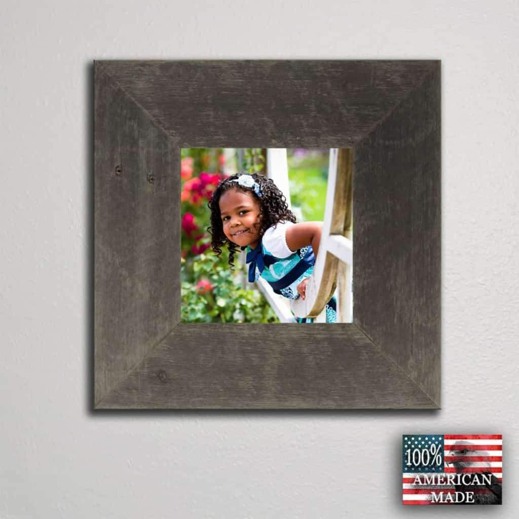 3 Wide Barnwood Frame 12 x 16 Size - Picture - Shop - Rustic Wooden