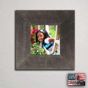 3 Wide Barnwood Frame 6 x Size - Picture - Shop - Rustic Wooden